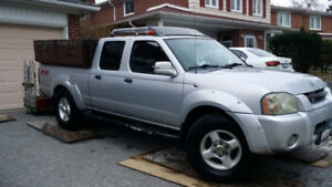 2002 Nissian Frontier pickup truck for sale