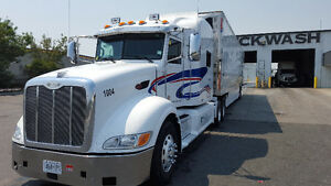 peterbilt2011(45,000$)& utility thermoking 2013(55000$)for sale