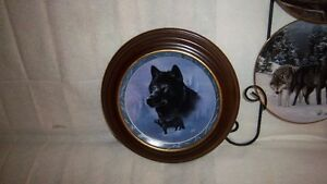 "Wolf Art, Bradford Exchange ""Collectable Fine Porcelain Plates Kitchener / Waterloo Kitchener Area image 7"
