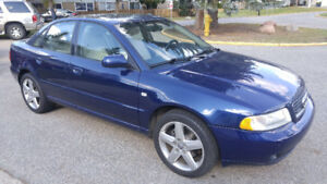 2001 Audi A4 Sedan 1.8T Quattro Turbo (Price reduced)
