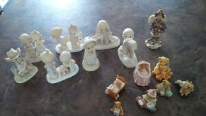 Pecious Moments and  Cherished Teddies