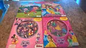 DISNEY STORY BOOKS AND ACTIVITY SETS Kingston Kingston Area image 1