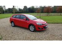2014 (64) Vauxhall Astra 1.6i VVT 16v Sport Tourer Auto Design superb condition