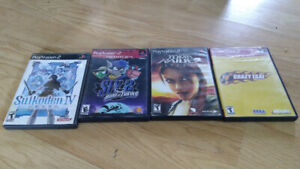 [PS2] Suikoden IV, Sly 2, Tomb Raider Legend & Crazy Taxi