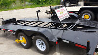 You Tow CAR HAULER open and enclosed trailer rentals from $60