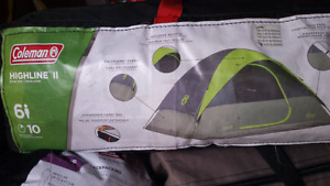 Coleman highline 11 six person tent