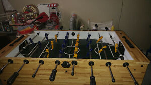 Foosball table tournament style