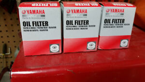 3 New Motorcycle Oil Filters - Yamaha 650cc