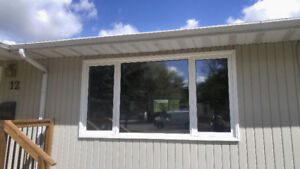 Pcv windows for less ..tri-pane lowe argon quality replacements