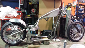 250 DROP SEAT SOFTAIL CHOPPER ROLLER