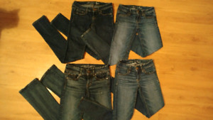American Eagle and Hollister Jeans! $45 for the lot