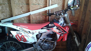 Crf 250r low mileage