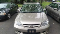 2005 Honda Civic LX Sedan FULLY LOADED WITH SUNROOF
