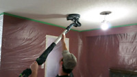 Drywall taping priming and painting