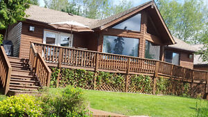 Cottage cabin lake front for rent on lake of the woods