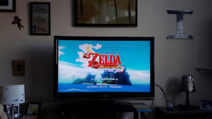 Zelda Wii U Wind Waker Edition and lots of games. (Reduced)