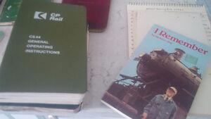 Railroad Railway Employee's Record Books Kitchener / Waterloo Kitchener Area image 7