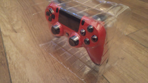 Brand new PS4 controller RED
