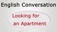 LOOKING FOR 2 BEDROOM APARTMENT
