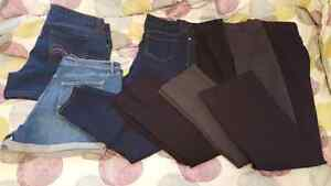 4 Pants and 2 shorts - Size 16 $30 OBO