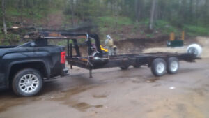 16' fifth wheel trailer with receiver