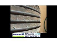 205/40/17 part worn tyre