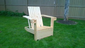 Modern Adirondack Chair with built in cooler.