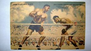 Jack Dempsey - Signed Post Card - Mint Condition !