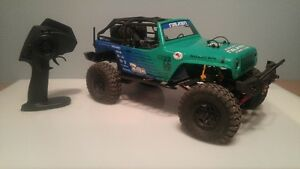 Axial SCX10 Upgraded RTR with 2S 6500Mah lipo. TRADES?