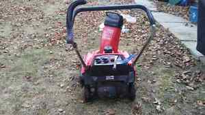 Snowblower trade only