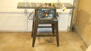 used table saw,with extensions and manual