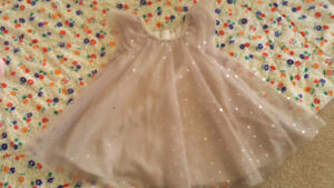 H&M baby girl Xmas or New Years dress size 3-6 months