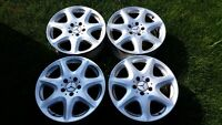 4 MAGS MERCEDES OEM 17'' 5X112 (S430 S500 S550 S600)