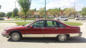 1991 Chevrolet Caprice Classic Safetied 133K