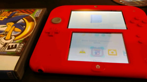 2DS SYSTEM WITH CHARGER AND GAME