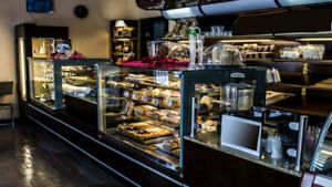 Bakery, Pastry, Gelato, Ice Cream, Display Cases