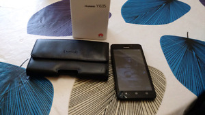 Huawei Y635 and case