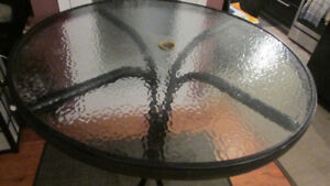 Patio table  wrought iron