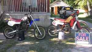 84 and 83 yz125s London Ontario image 1