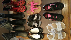 Girls size 10 and 11 shoe lot