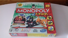 Junior monopoly game