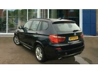 2012 BMW X3 2.0 20d M Sport Auto xDrive 5dr SUV Diesel Automatic