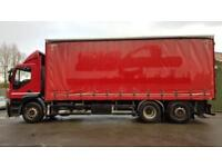 Iveco Stralis 26 ton curtainsider/1 owner