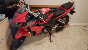 Immaculate 2008 CBR125rr