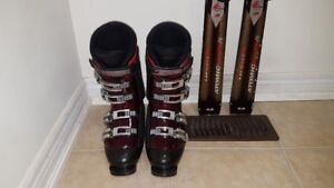 ADULTS&JUNIOR SKIS BOOTS!!!