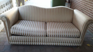 Sofa Bed with Mattress Inside.
