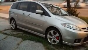 2007 Mazda 5 Great Mini Van Clean Title Low Km Cheap Price