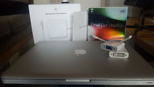 "MacBook Pro 13"" 1TB, 6GB RAM - New bat. & charger, fully loaded"