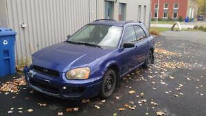 2004 Subaru Impreza Familiale