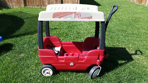 For Sale: Step 2 Canopy Wagon, 3 Seater rocker & Hippo sandbox